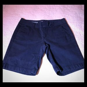 J.Crew Navy Blue Walking Shorts